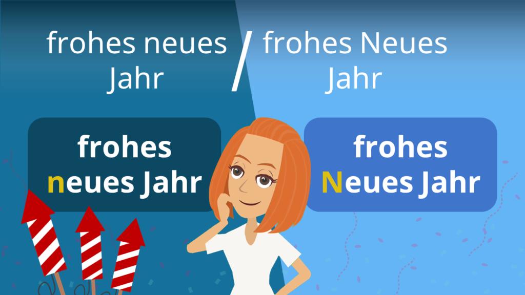 Zum Video: frohes neues Jahr/frohes Neues Jahr