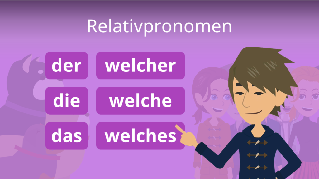 Zum Video: Relativpronomen