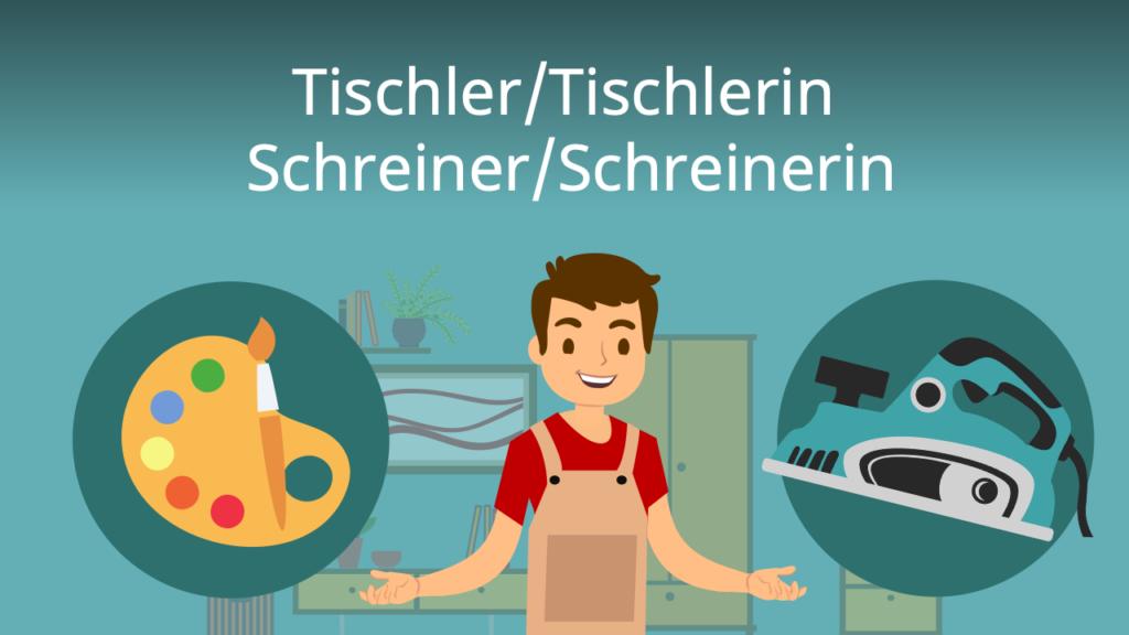 Zum Video: Tischler/Tischlerin, Schreiner/Schreinerin