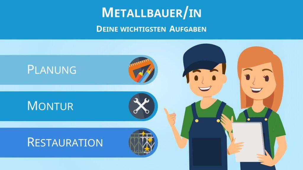 Metallbauer, Metallbauerin,Metallbauer Aufgaben, Was ist ein Metallbauer, Metallbau