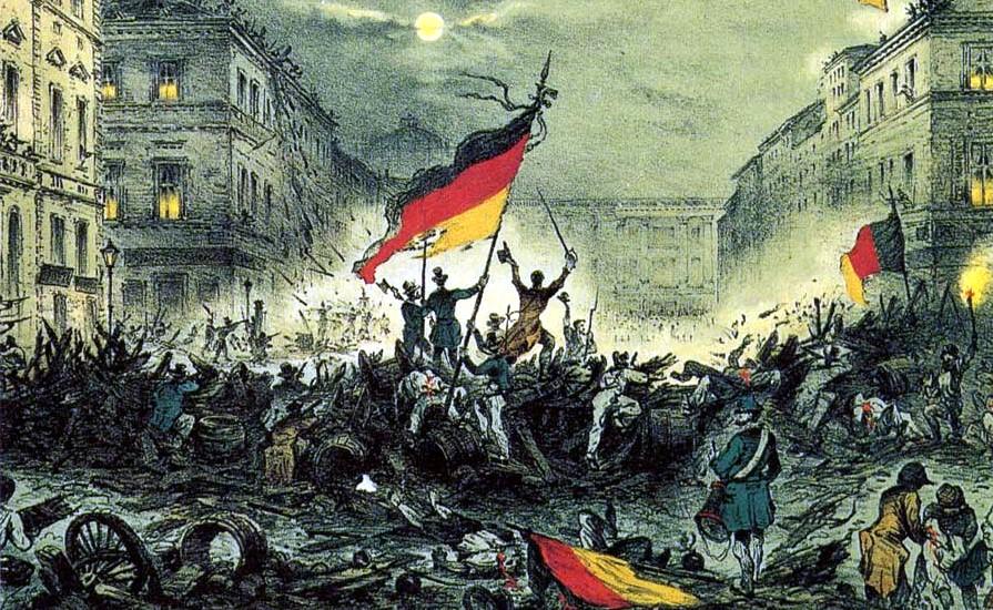 märzrevolution, vormärz, wiener kongress, restauration, deutsche revolution, 1848, märzrevolution 1848, deutscher bund, weberaufstand