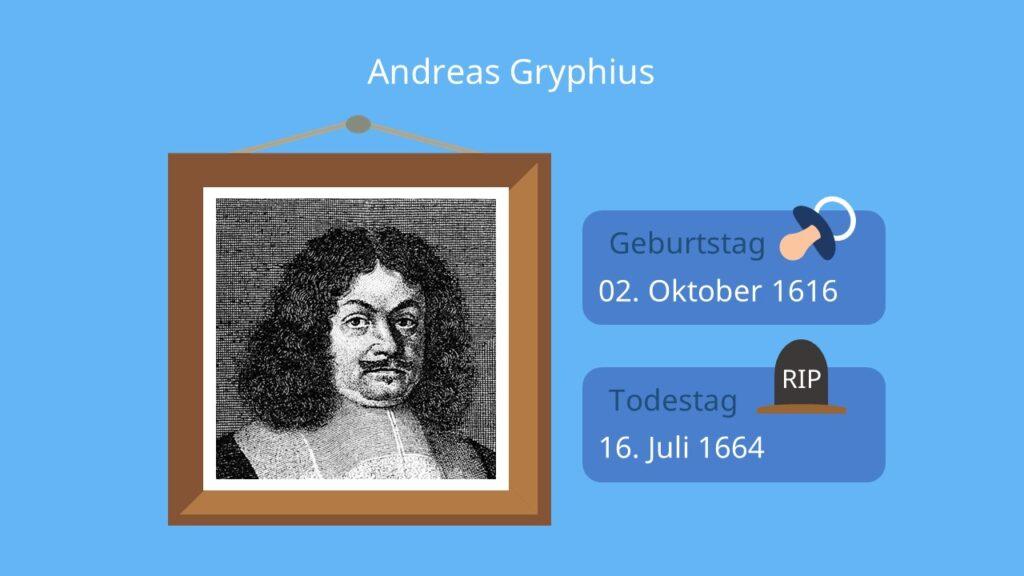 andreas gryphius, barock, literaturepoche, lyrik, barock epoche, schriftsteller, es ist alles eitel