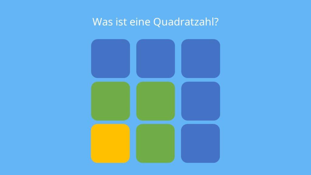 Quadratzahlen, Quadratzahl, Was sind Quadratzahlen, Quadratzahlen Grundschule, Quadrat zahlen, Quadratzahlen bis 20, Quadratzahlen bis 25, quadratzahlen bis 100, Quadratzahlen 1 20