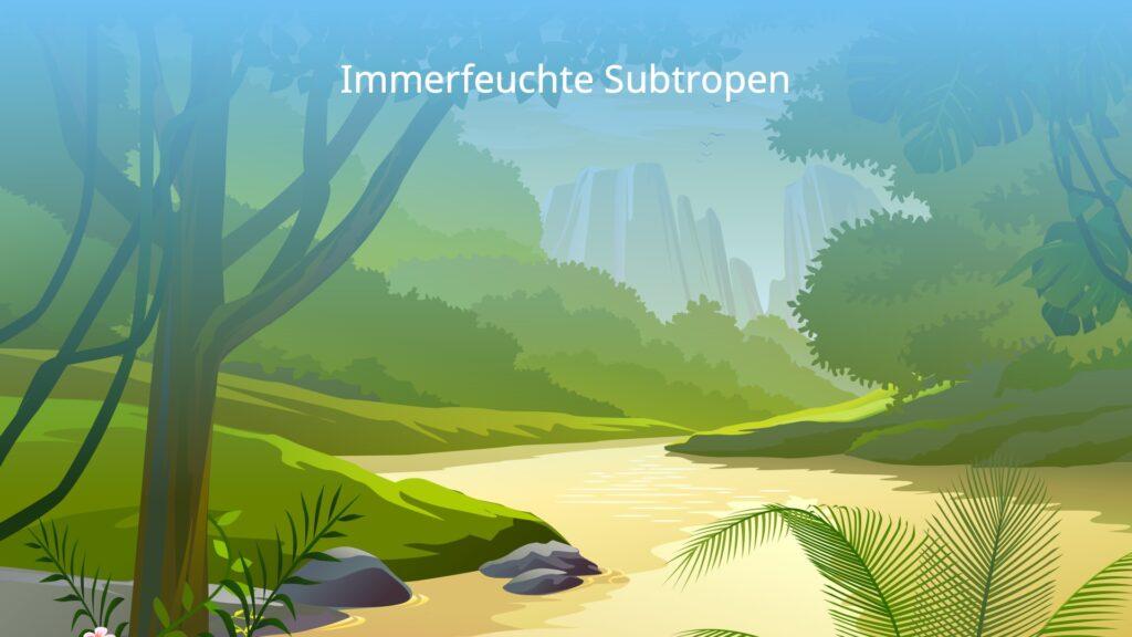 subtropische Zone, Subtropen, immerfeuchte Subtropen, subtropische Klimazone, Ostseitenklima, subtropisches Klima, Landschaft Subtropen, Landschaft immerfeuchte Subtropen, Landschaft subtropische Zone