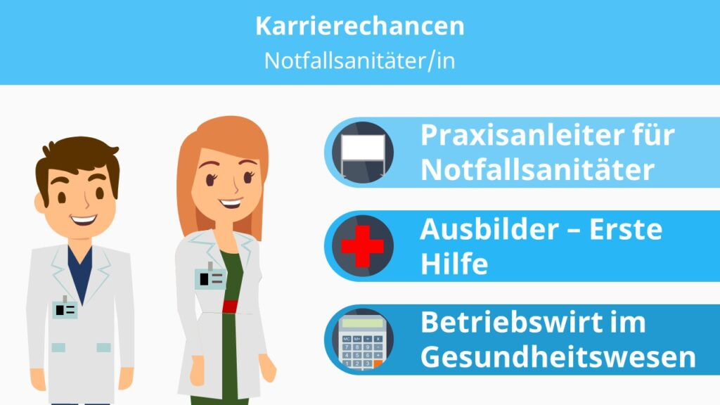 Notfallsanitäter, Notfallsanitäter Ausbildung, Praxisanleiter Pflege, Praxisanleiter Fortbildung, Betriebswirt für Management im Gesundheitswesen
