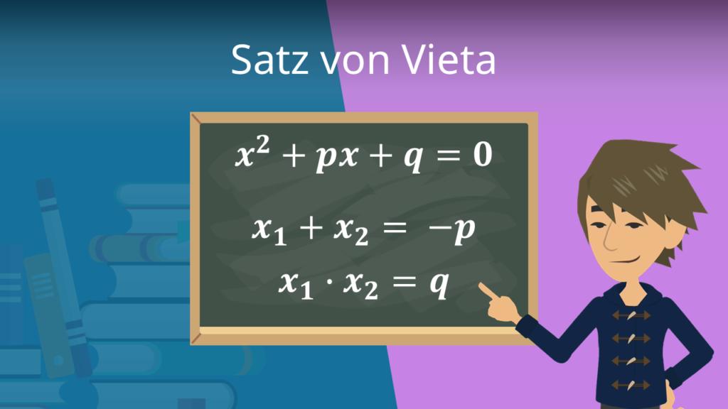 Zum Video: Satz von Vieta